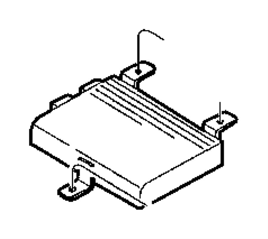 1999 chrysler sebring amplifier  radio  speakers  infinity