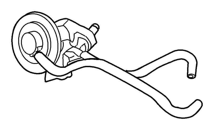 2001 dodge durango valve  egr  mopar