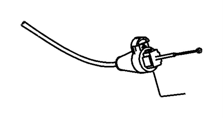 2006 jeep liberty cable  gearshift lock   park interlock