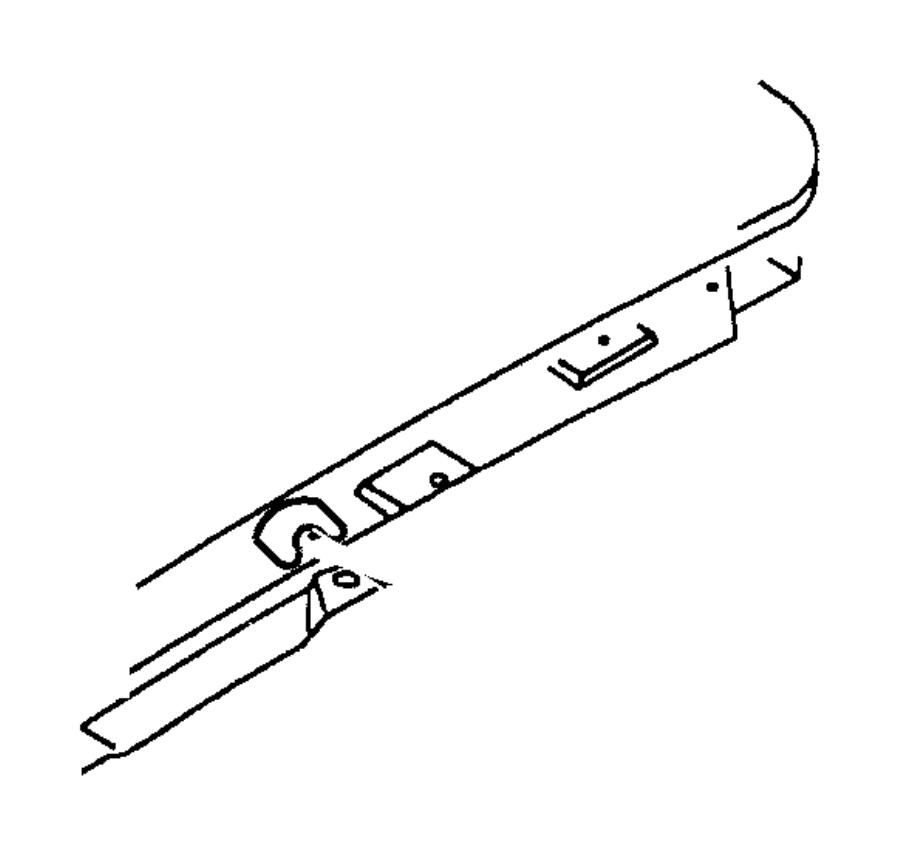 1999 chrysler sebring clip  body  sunroof  lid  plugs