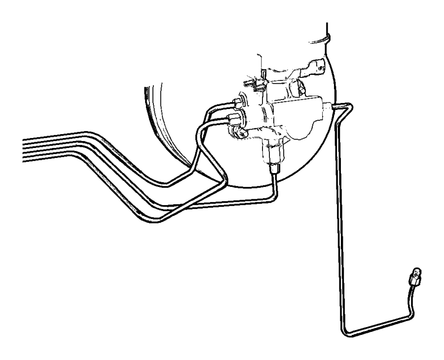 disc brake proportioning valve diagram