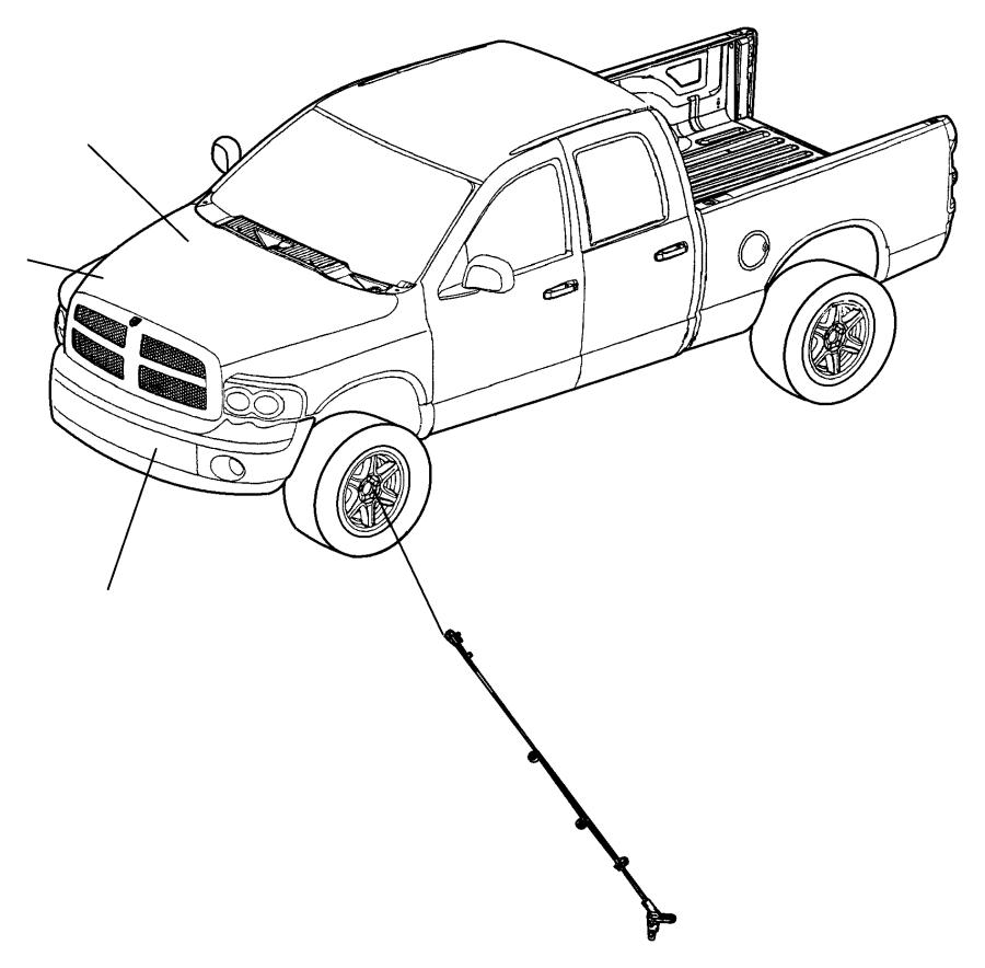 2011 dodge challenger sensor  wheel speed  brakes  lock  anti