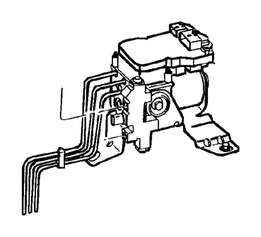 2000 dodge ram 2500 tube  brake  right  hydralic