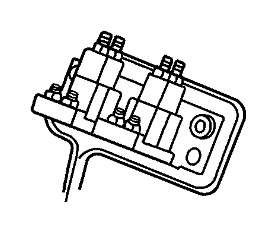 1999 dodge ram 1500 relay  electrical  mopar