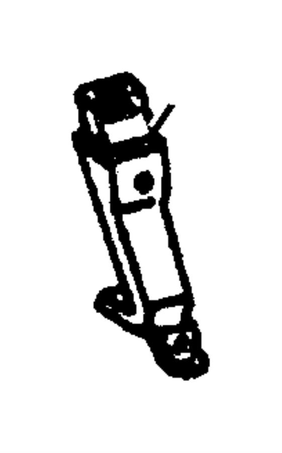 Dodge Durango Seat Belt Front Inner K9 Trim Seat