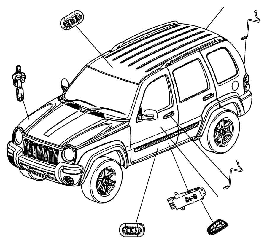2007 Jeep Wrangler Sport Parts Diagram Wiring Diagrams Book Belt Patriot 4x4 Instructions 2002 Liberty Sunroof