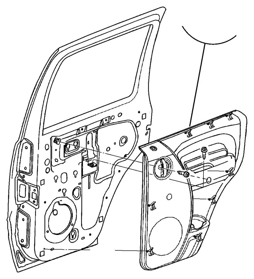 2002 jeep liberty plug  door trim panel  trim   all trim