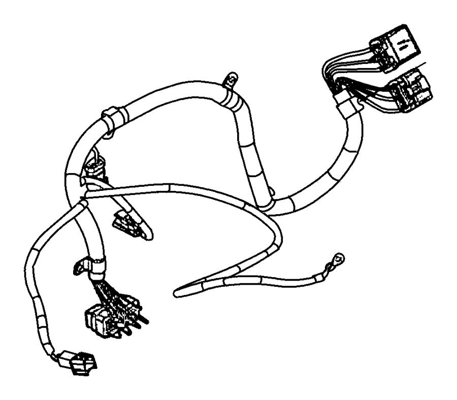 2009 dodge durango wiring  engine  emissions