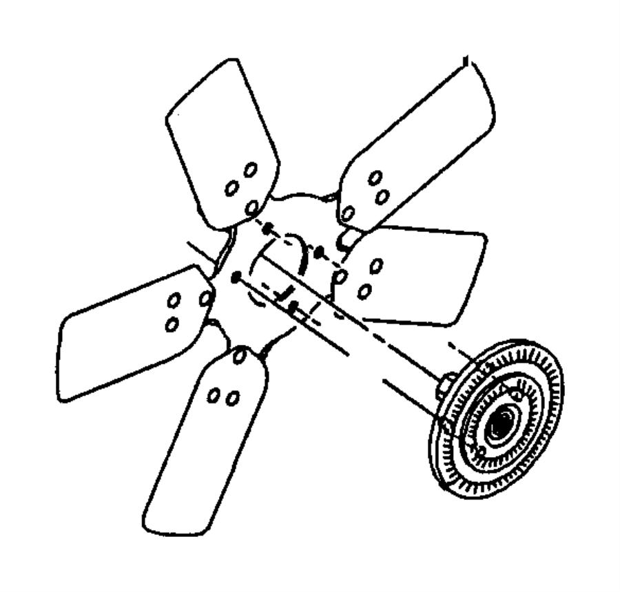2001    Dodge       Durango       Fan    Cooling  heavy duty engine
