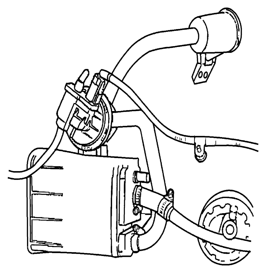 1999 dodge stratus bracket  air filter  mexicoemissions