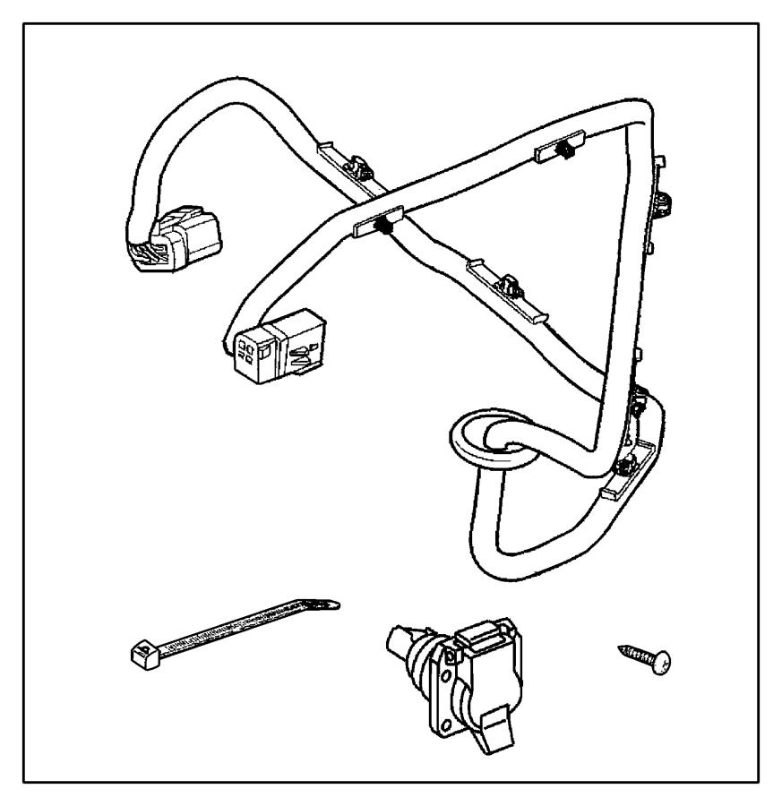 Dodge Ram 1500 Wiring Kit  Trailer Tow