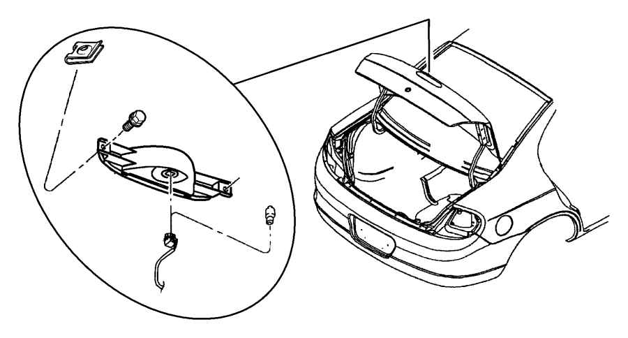 Dodge Dakota Front Fender Diagram