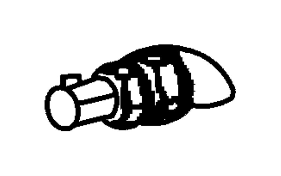 2003 dodge durango valve  crankcase vent