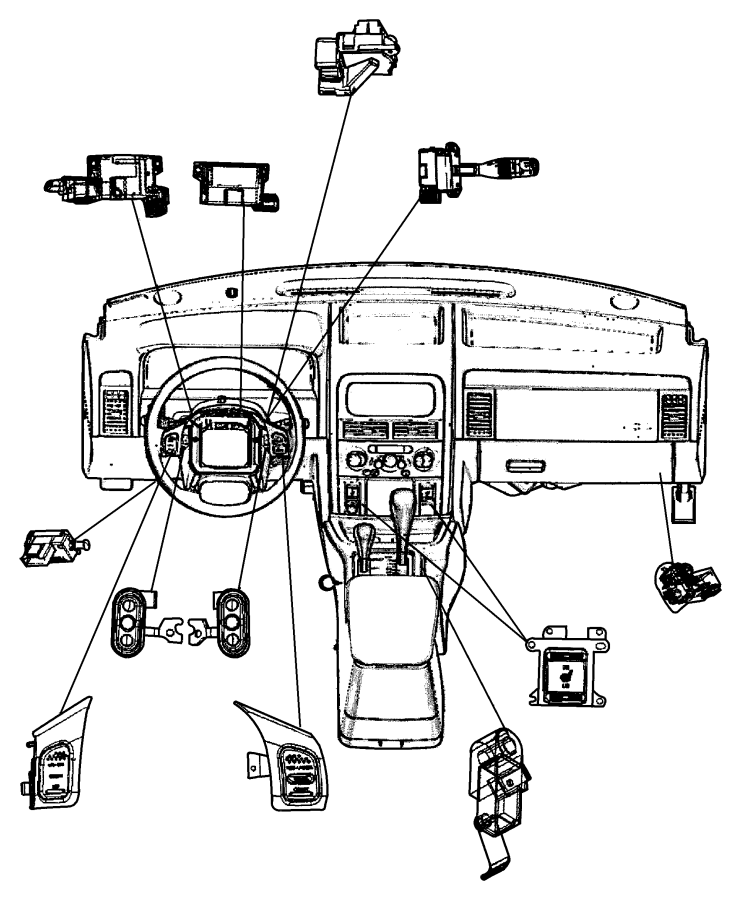 2001 Jeep Grand Cherokee Switch  Ignition