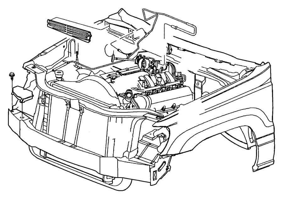 2002 jeep grand cherokee reservoir  vacuum  steering