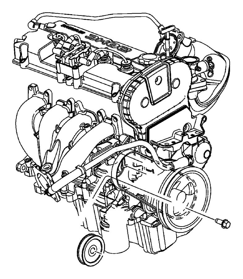 I on 2006 Dodge Stratus Belt Diagram