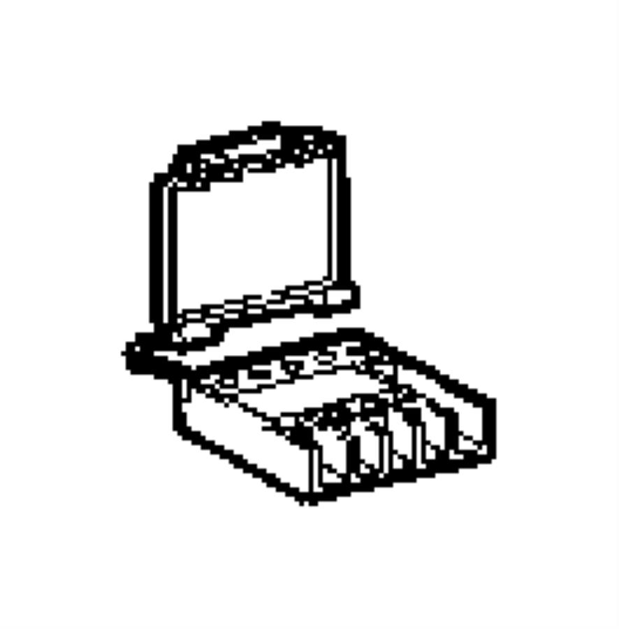 2005 chrysler crossfire block fuse 05097284aa mopar. Black Bedroom Furniture Sets. Home Design Ideas