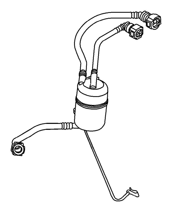 2007 chrysler pt cruiser filtr pkg  fuel  diesel  engines