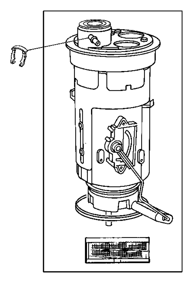 2004 dodge ram 1500 filter  fuel pressure regulator