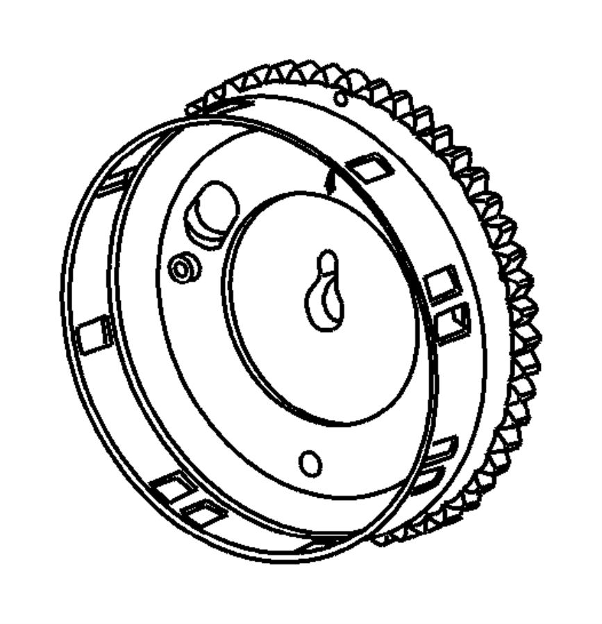 2008 Dodge Ram 3500 Tensioner Belt Chain Timing Kit