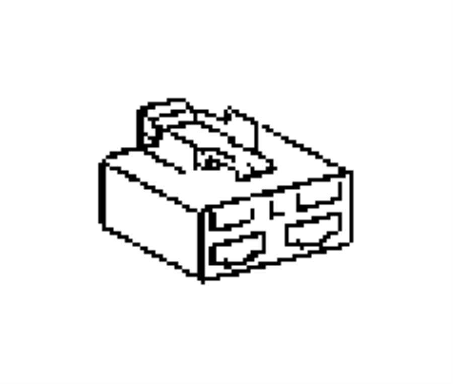 2010 jeep patriot block fuse 05120849aa mopar parts inc. Black Bedroom Furniture Sets. Home Design Ideas