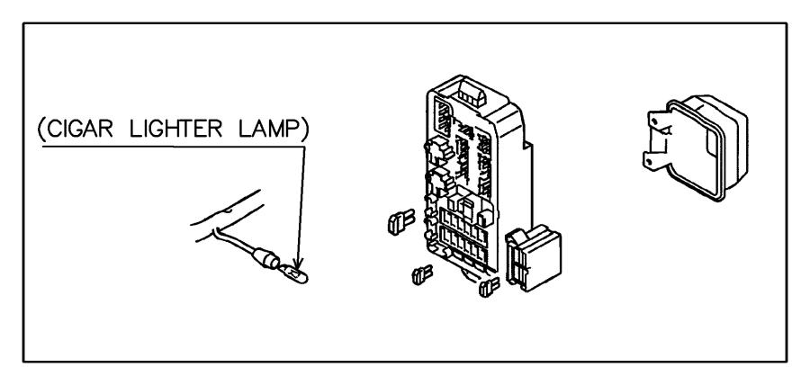 2002 chrysler sebring fuse  mini  20 amp  yellow  wiring