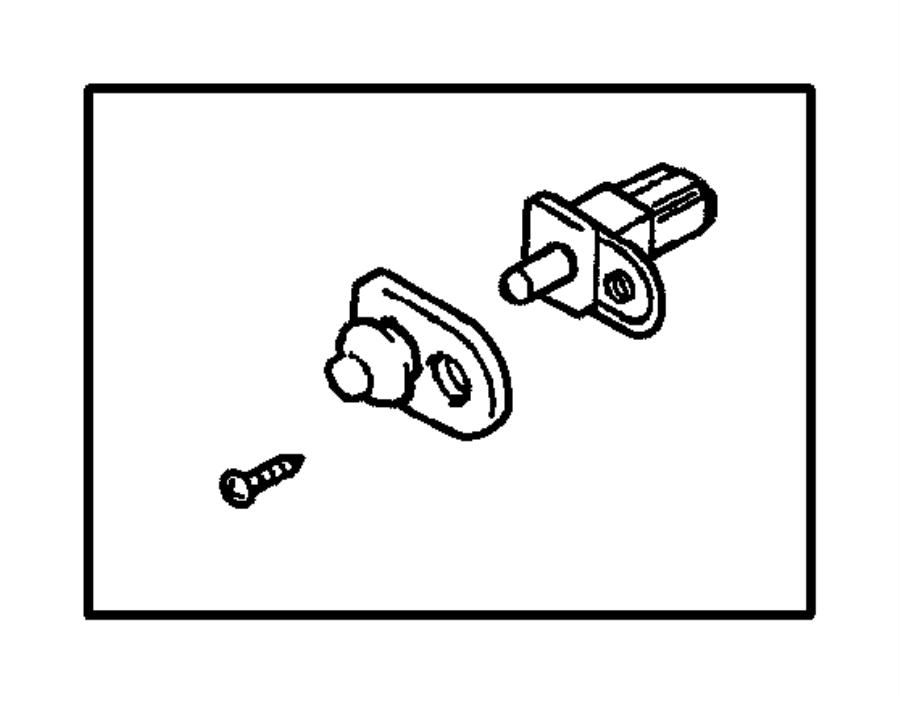 dodge stratus cap  door lamp switch  service  engine