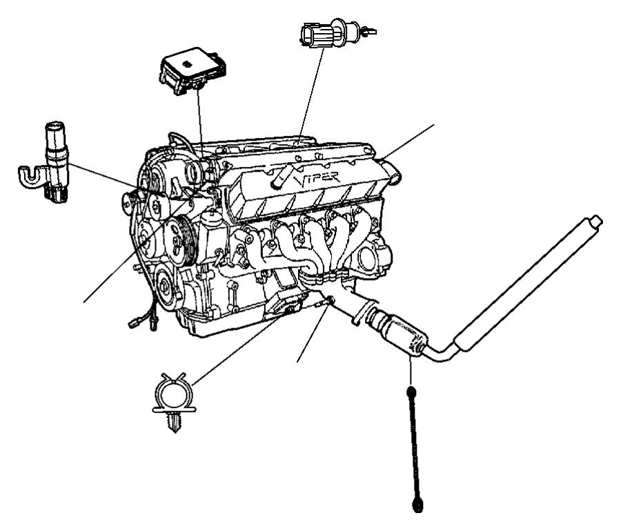 2003 Chrysler Concorde Sensor  Crankshaft  Crankshaft Position  Egc