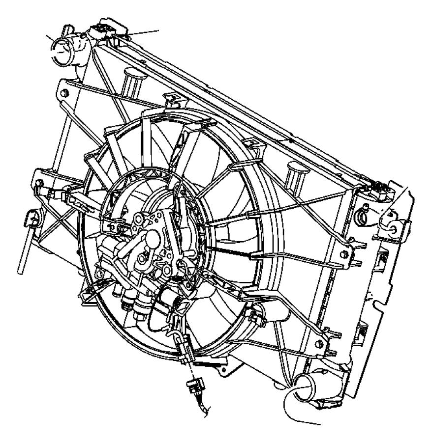 2004 dodge viper wiring  fan motor