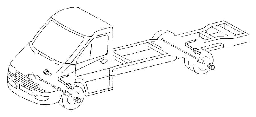 2006 dodge sprinter 2500 wiring  brake indicator  must
