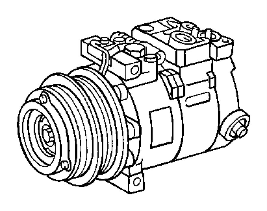 2005 dodge sprinter 3500 compressor  air conditioning