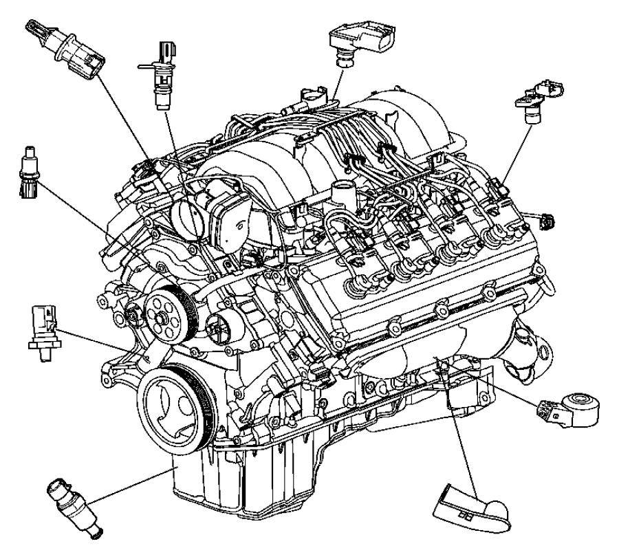 2004 Dodge Durango Sensor. Camshaft - 56041584AF