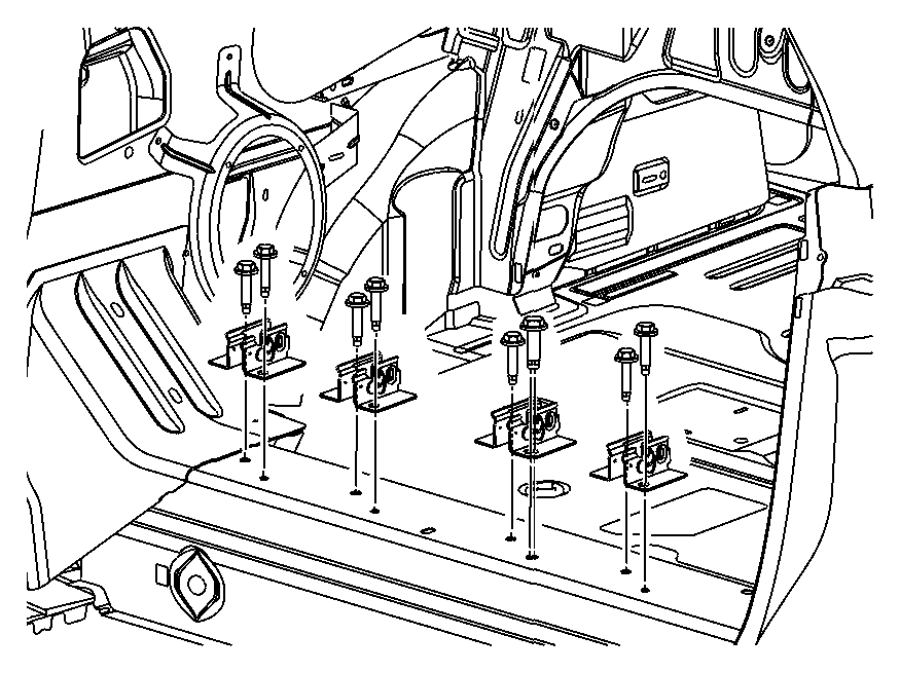 ShowAssembly besides Pontiac Grand Am 2001 2004 Fuse Box Diagram also Chevrolet Cobalt 2005 2010 Fuse Box Diagram likewise 04645977AB additionally T2874573 Need rear suspension diagram 1999. on pt cruiser rear seat