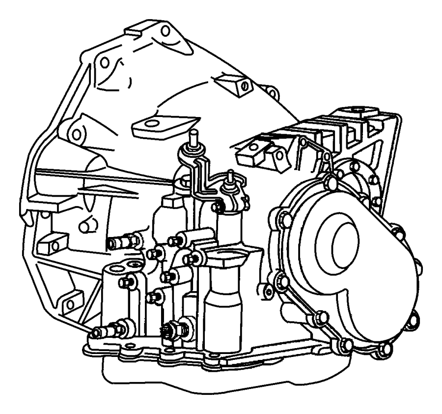 2005 Chrysler Town  U0026 Country Transaxle Package  With