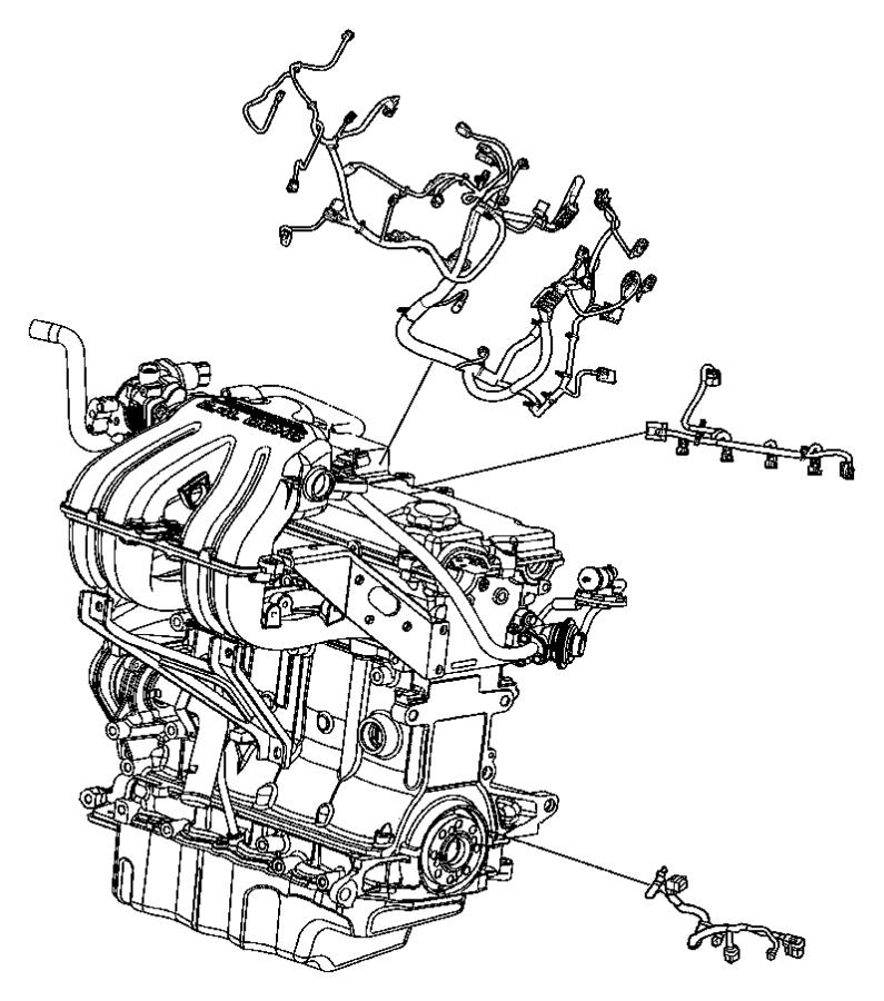 2005 Chrysler Town  U0026 Country Wiring  Transmission Jumper