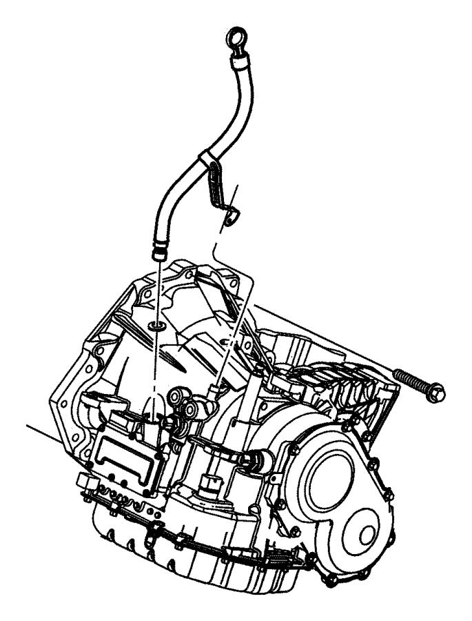 Dodge Grand Caravan Indicator. Transmission fluid level ...