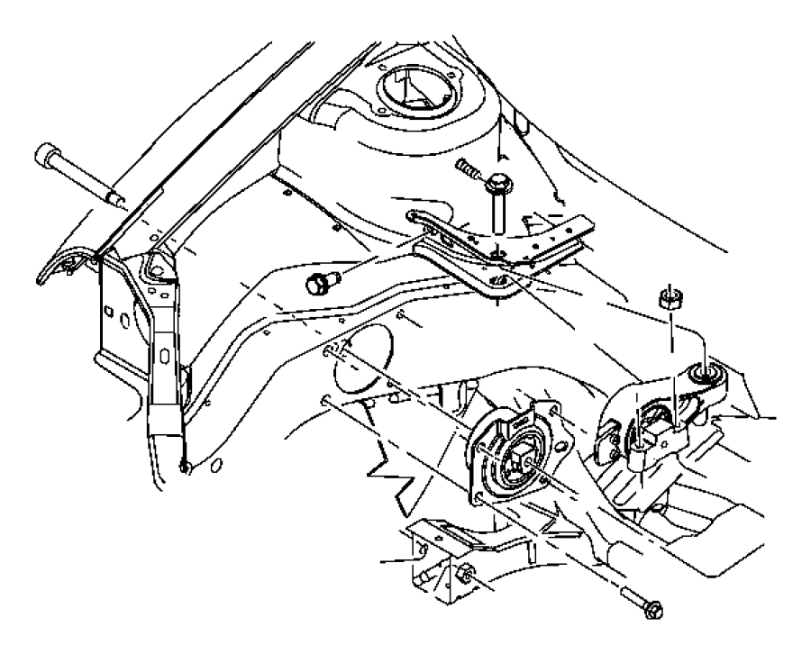 I on Dodge Neon Engine Mount Diagram