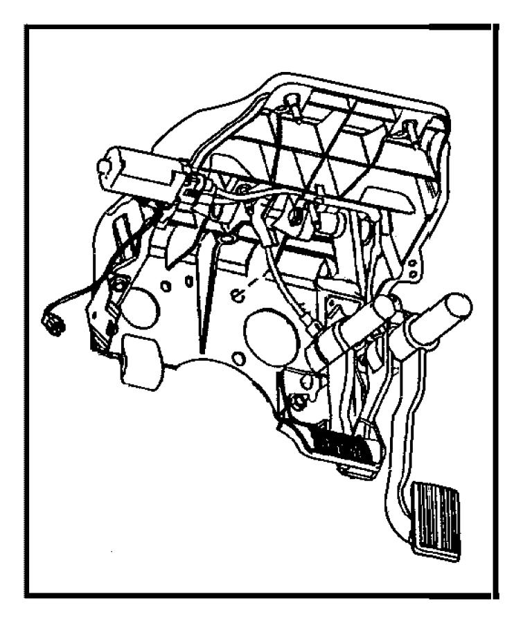 2005 dodge ram 2500 pedal  accelerator  nhn  apps  dgo