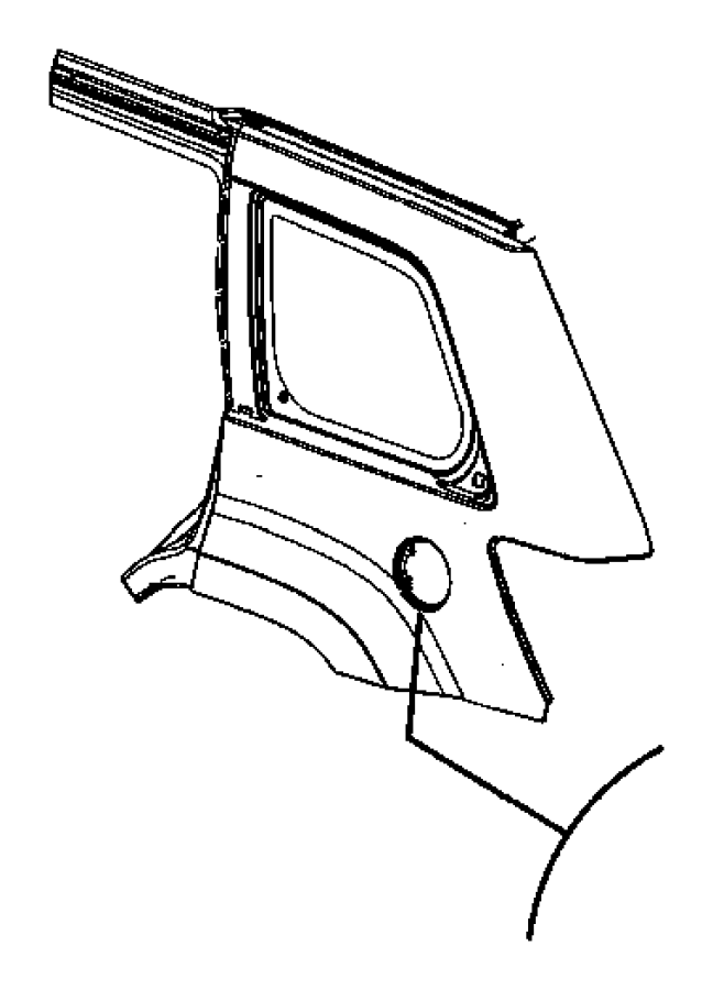 diagram of 2007 dodge nitro interior door