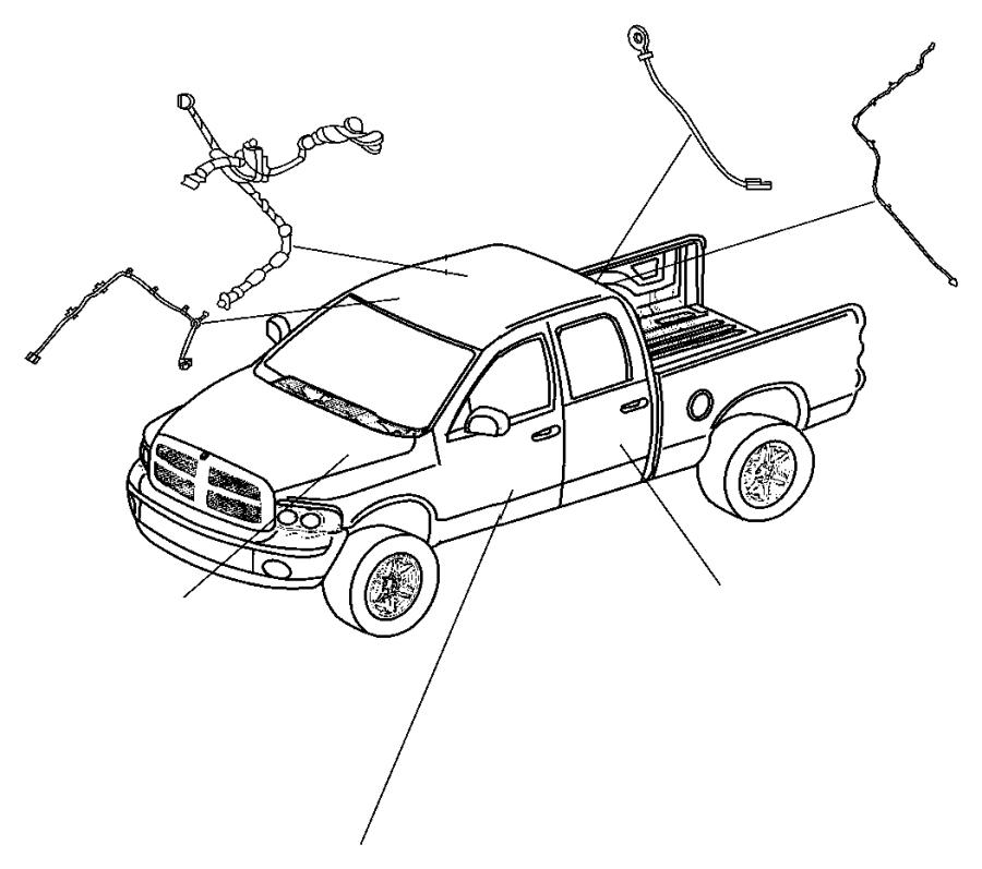 Dodge Challenger Wiring Mirror Jumper Gnk Rsp Rsp