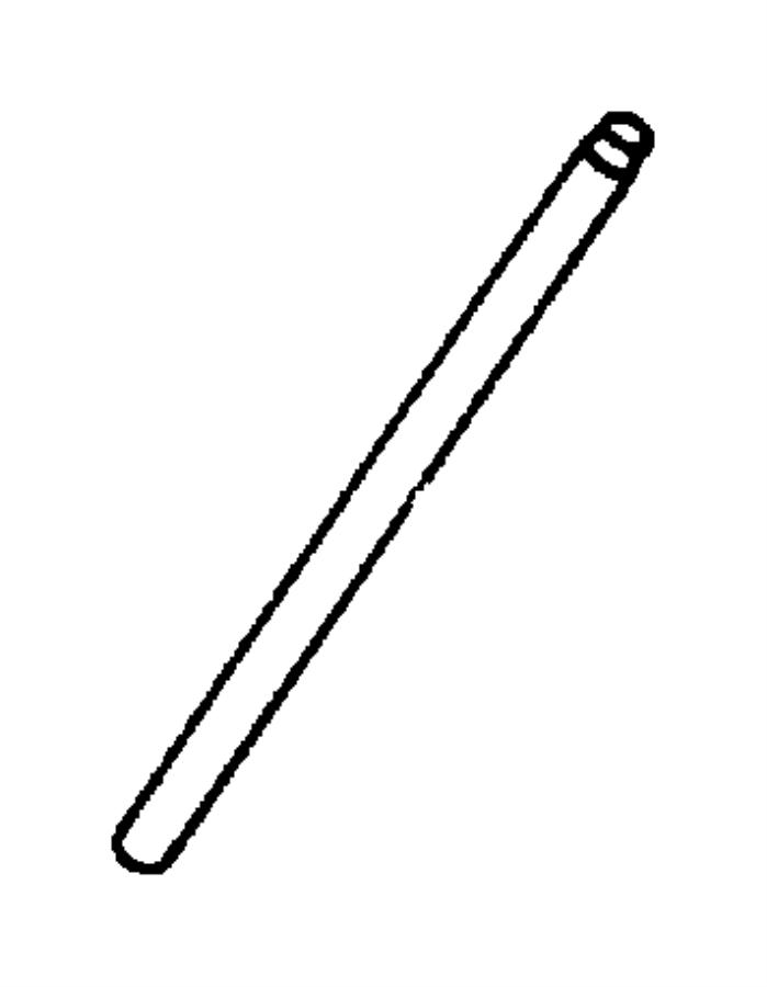 Dodge Dakota Push Rod Valve Push Rod Valve Camshaft