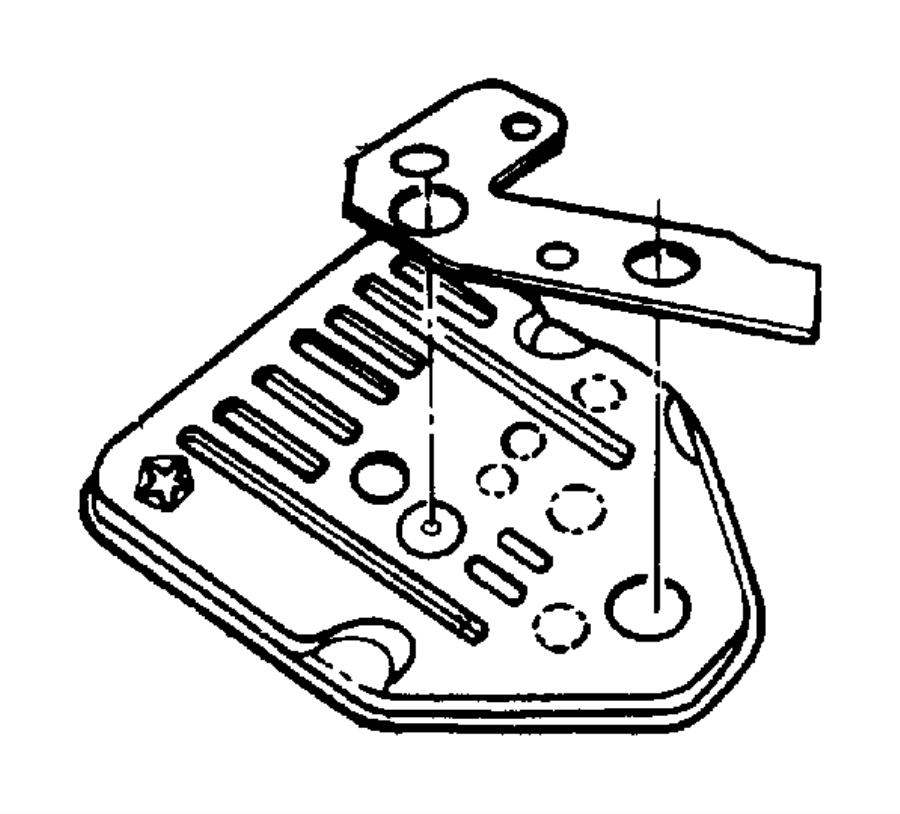 31th transmission valve body diagram