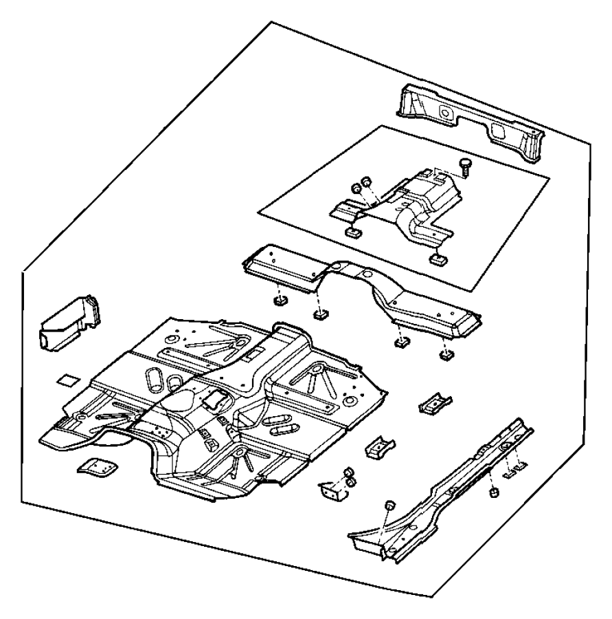 I on Oem Jeep Wrangler Floor Pan Parts Diagram