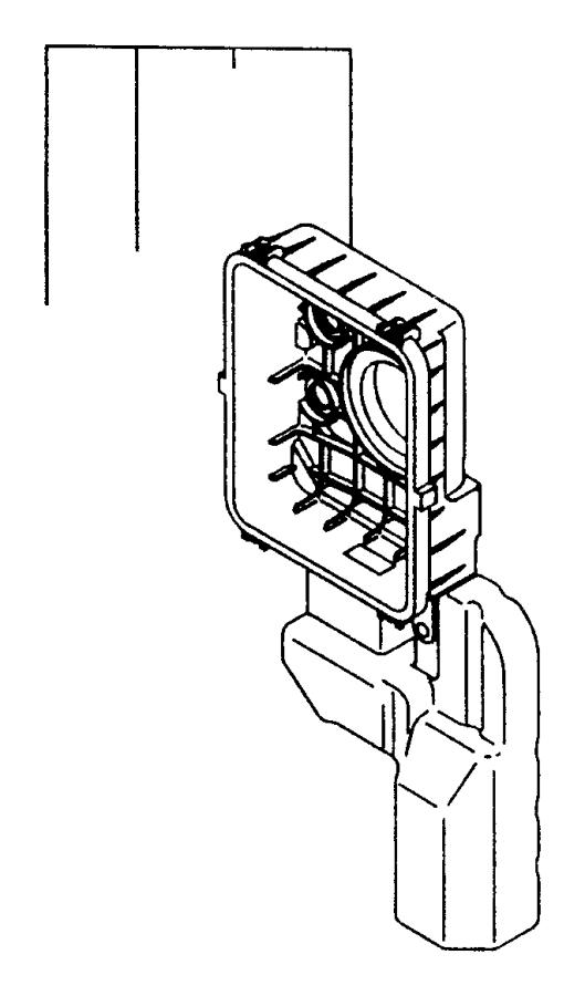 1996 dodge avenger collar  air cleaner  turbo  engine