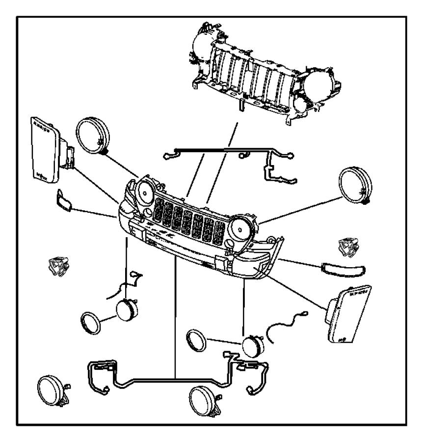 Chrysler Fog Light Wiring Diagram: 2005 Jeep Liberty Wiring. Fog Lamp. Lamps, Front