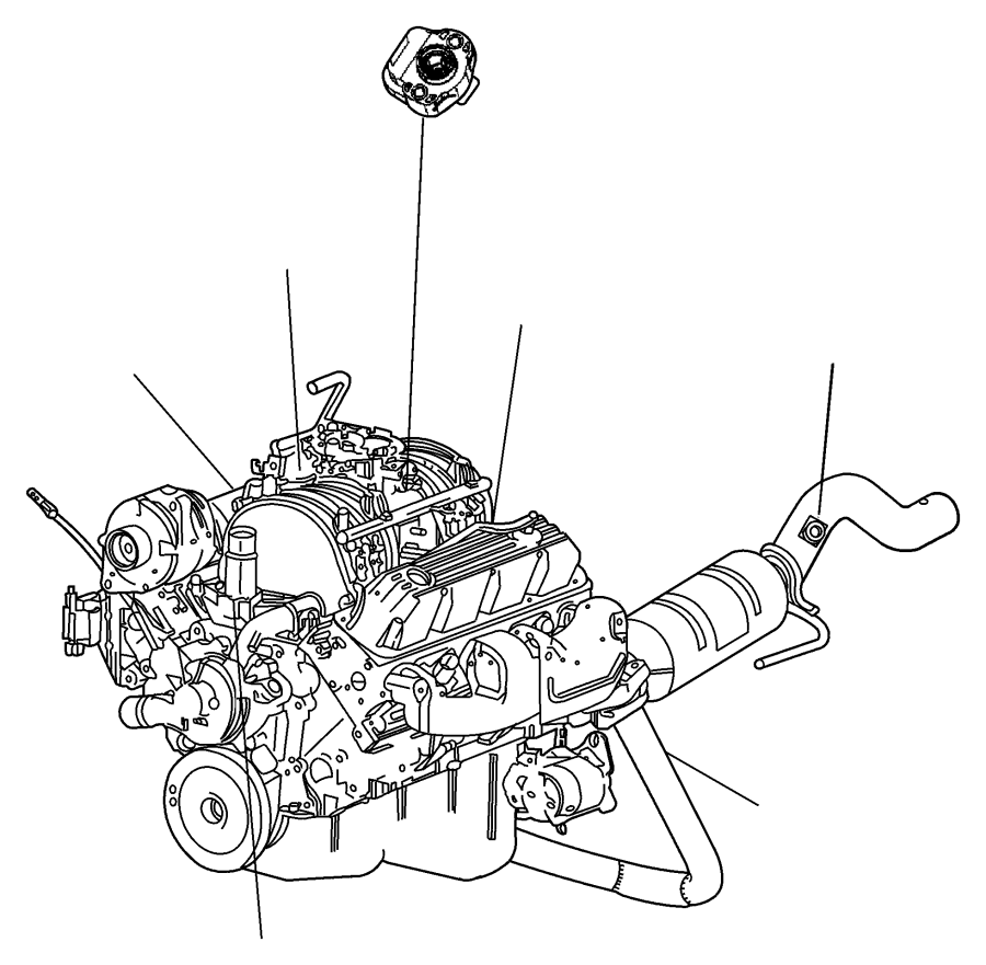 1999 dodge durango sensor  crankshaft position  automatic