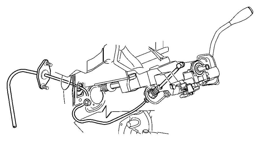 2005 dodge dakota plate  shift  gearshift  controls  dgq