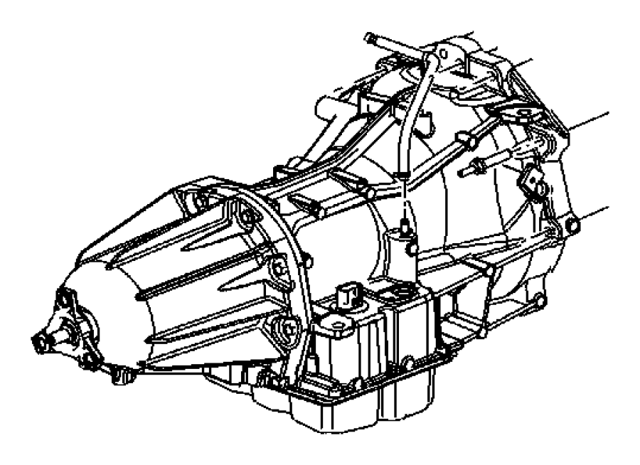 2007 chrysler 300 hose  transmission vent  torque converter to drive plate