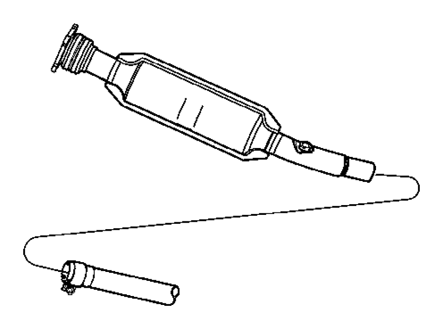 2002 dodge stratus exhaust system diagram