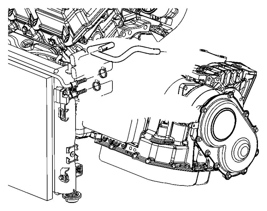 chrysler sebring tube  trans oil cooler outlet